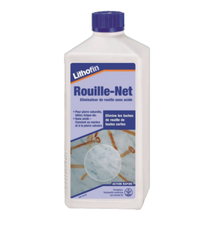 Lithofin rouille net for Produit pour enlever la rouille sur carrelage